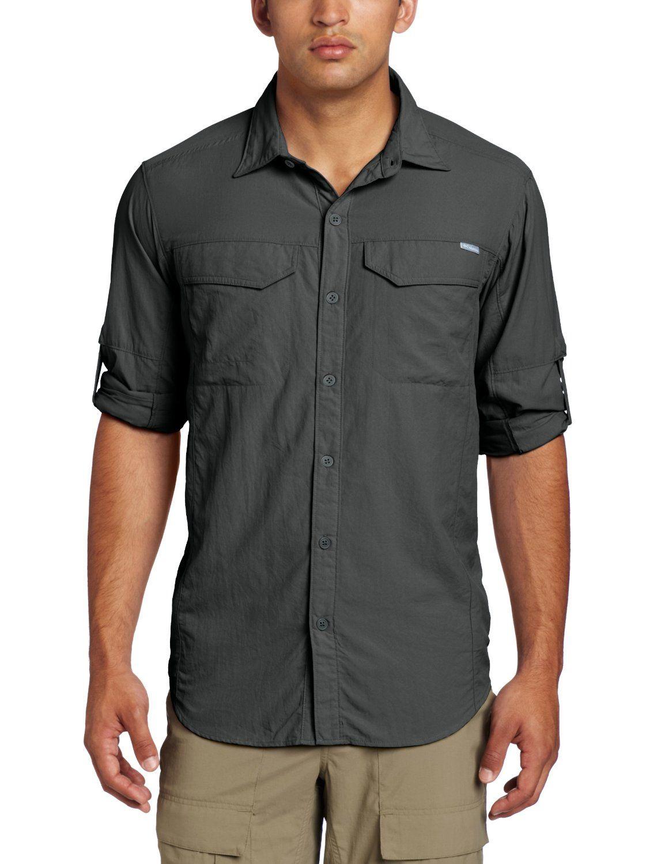 b570066c325 @Amazon.com #Columbia Men's Silver Ridge Long Sleeve Shirt: #white #green  #grey #blue - $30.00-$47.99 depending on color
