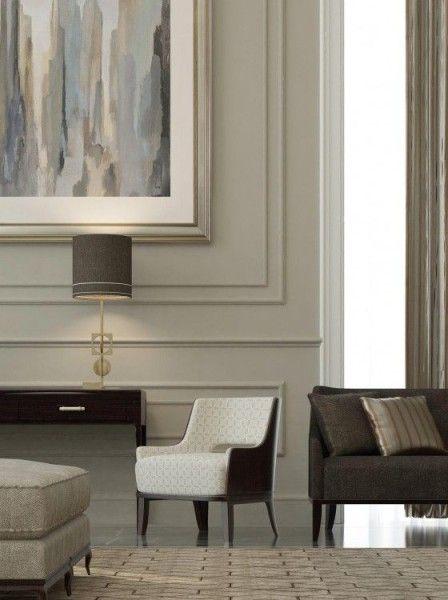 Wall Panels With Modern Furnishings