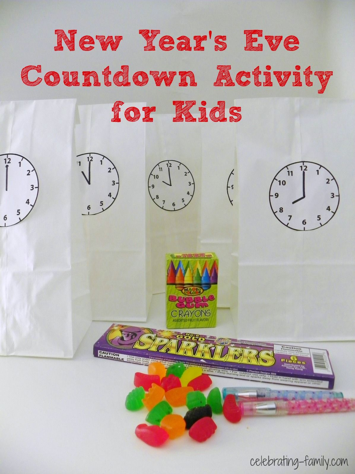 New Year's Eve Countdown Activity for Kids (With images