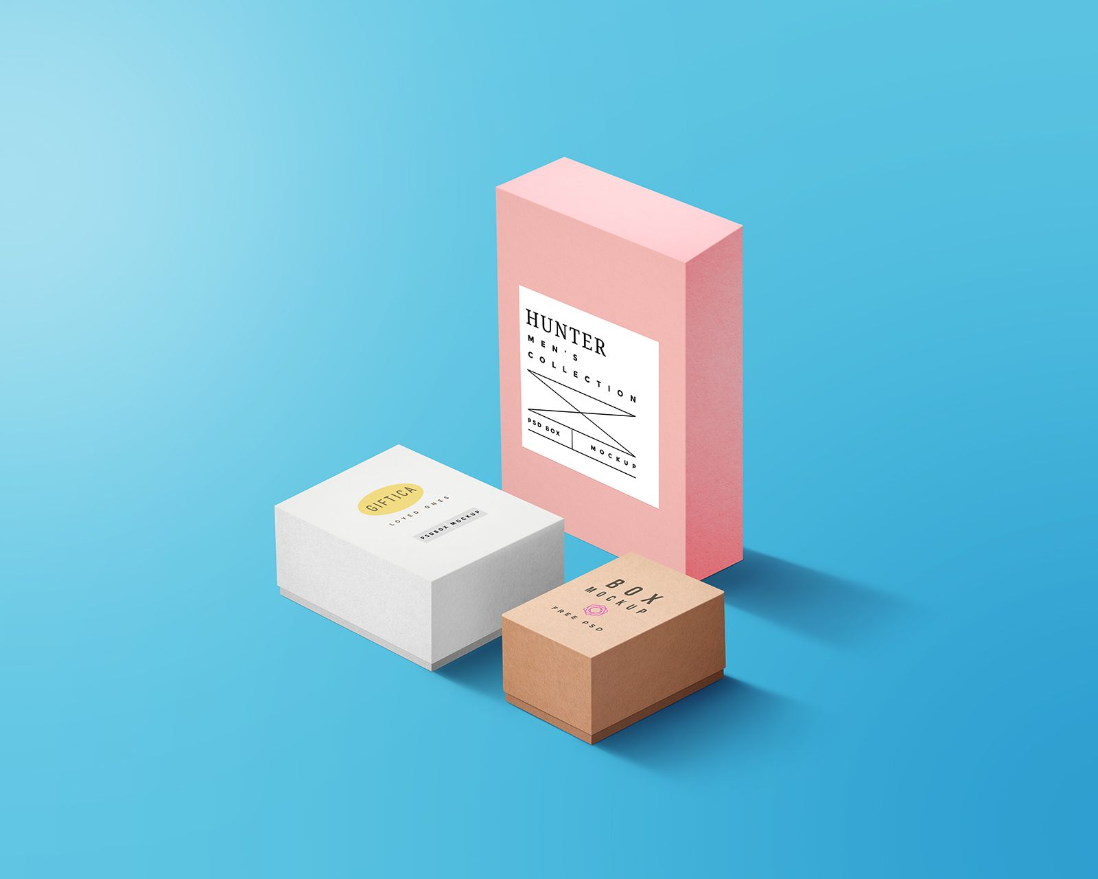 Download Boxes Packaging Mockup Psd Packaging Mockup Mockup Psd Box Packaging