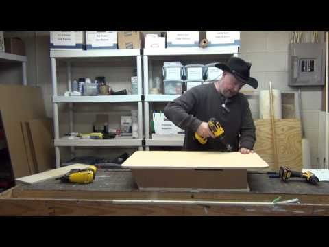 Four Chamber Bat House Build