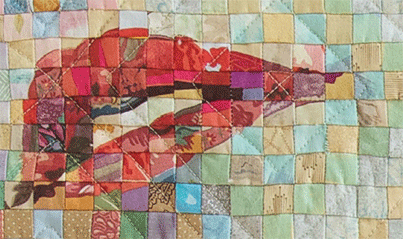 Keep Quilt Squares Aligned with a Fusible Interfacing Fabric Grid ... : quilt art magazine - Adamdwight.com