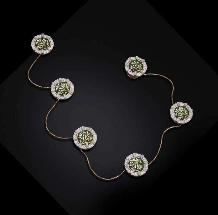 Indian Gold Jewellery Necklace Sets Google Search: Diamond Buttons For Kurta - Google Search