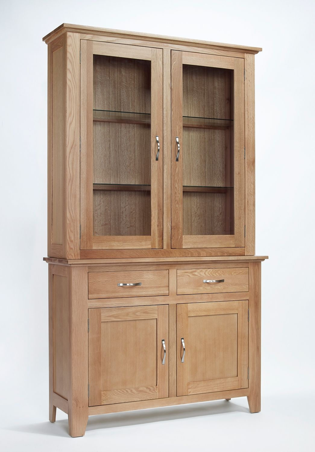 Sherwood Oak Sideboard Top With 2 Doors Dining Room