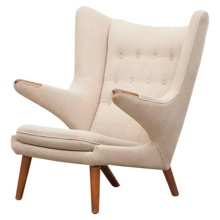 Super 1950S Papa Bear Chair By Hans Wegner B Chair Deco Ibusinesslaw Wood Chair Design Ideas Ibusinesslaworg