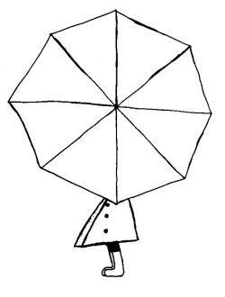 Sonbahar Mevsimi Sulu Boya Etkinligi Umbrella Mandala