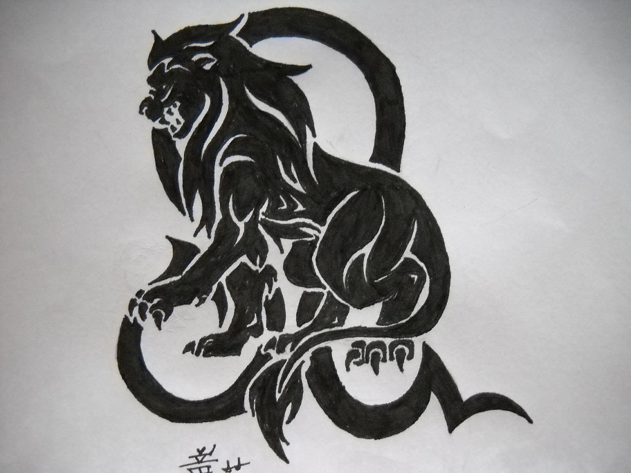 Leo Zodiac Sign Tattoo Ideas
