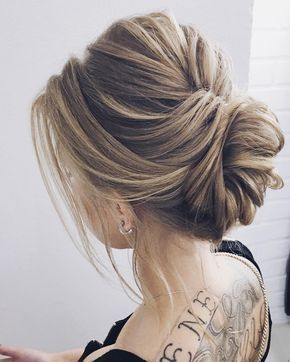 Messy Updo Hairstyles Fascinating Elegant Wedding Updoupstyles Bridal Updosmessy Updo Hairstyles