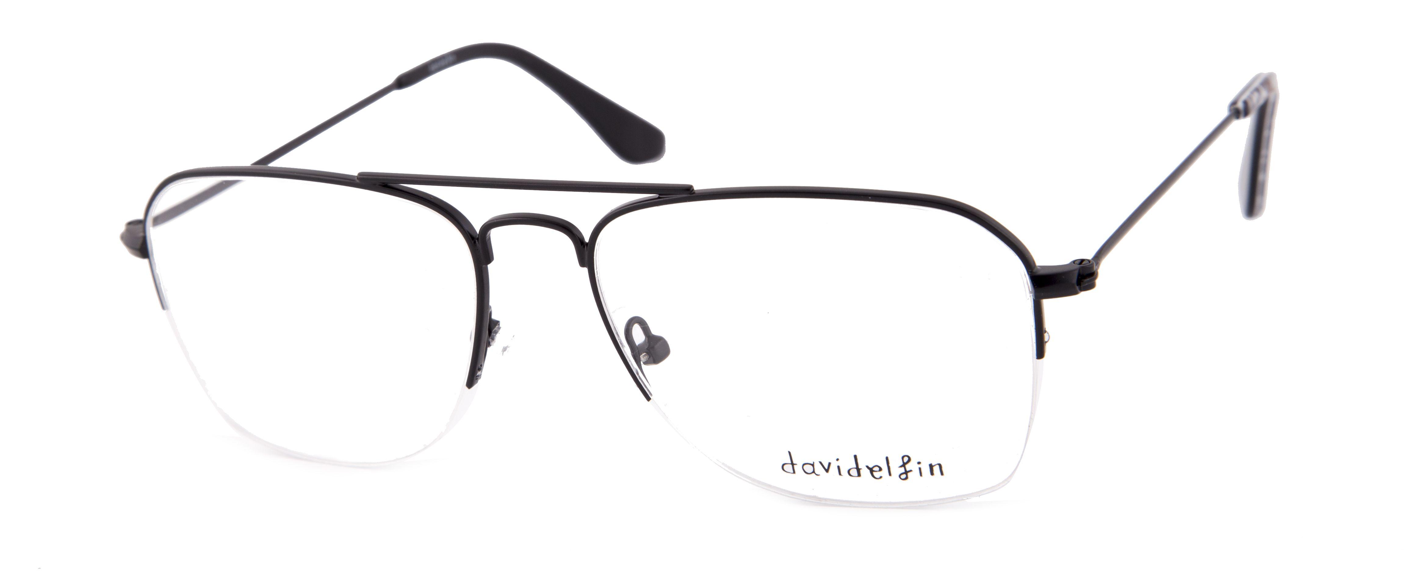b43f1b7cf4 Gafas diseñadas por Davidelfin para Opticalia. Montura de estilo aviador  semi al aire