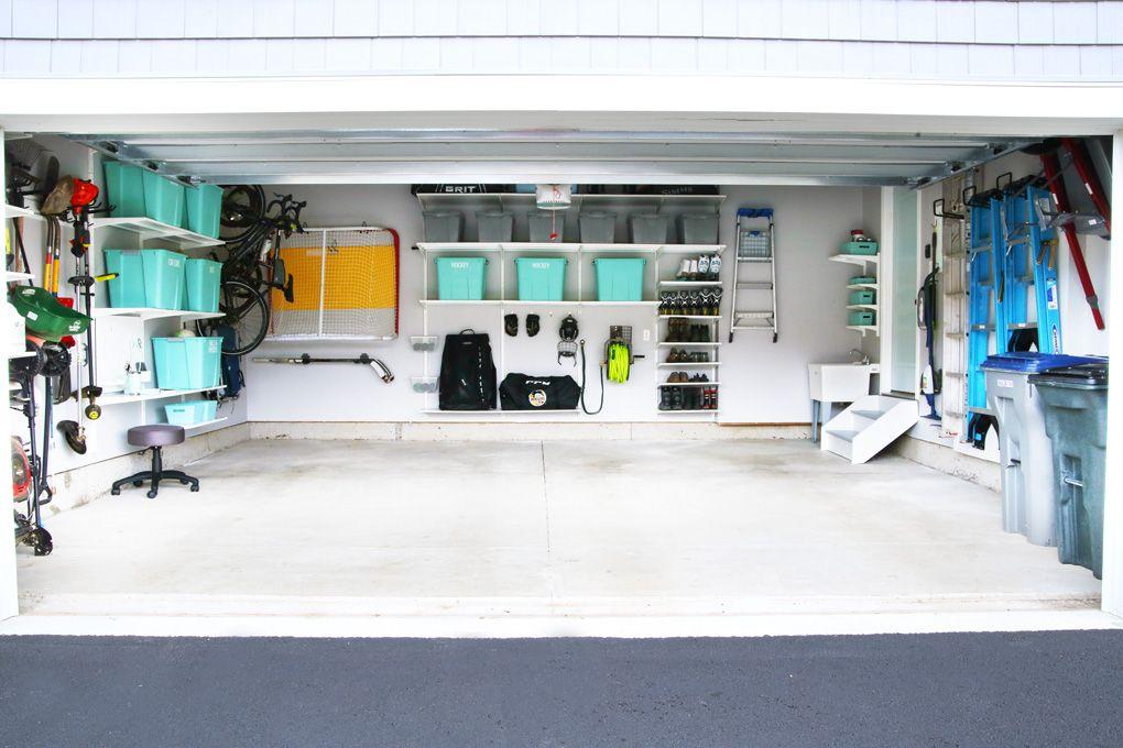 How to Organize a Messy Garage | Garage organization, Home ...