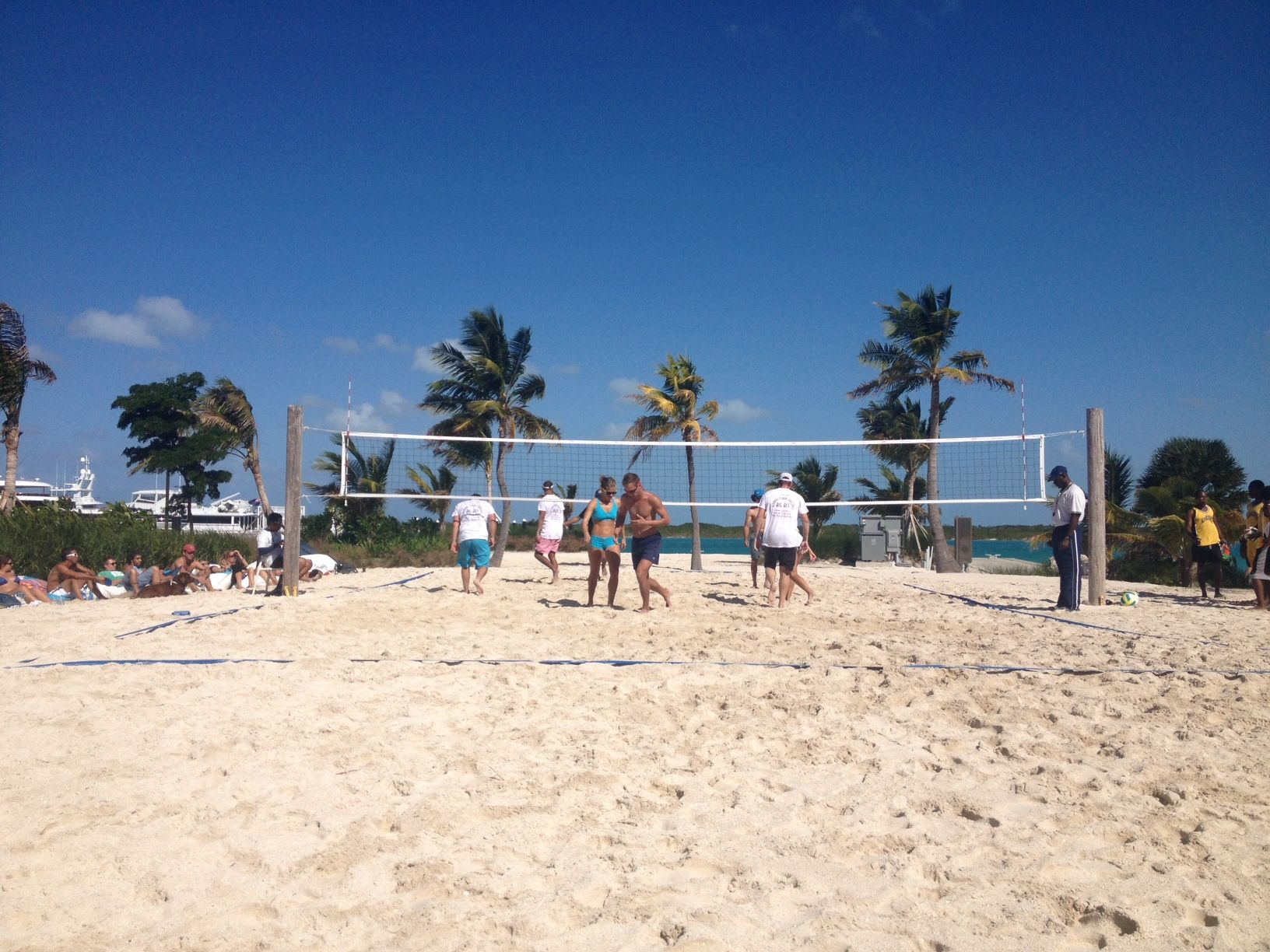 Beach Volleyball At Blue Haven Turks And Caicos Resorts Adventure Travel All Inclusive Resorts