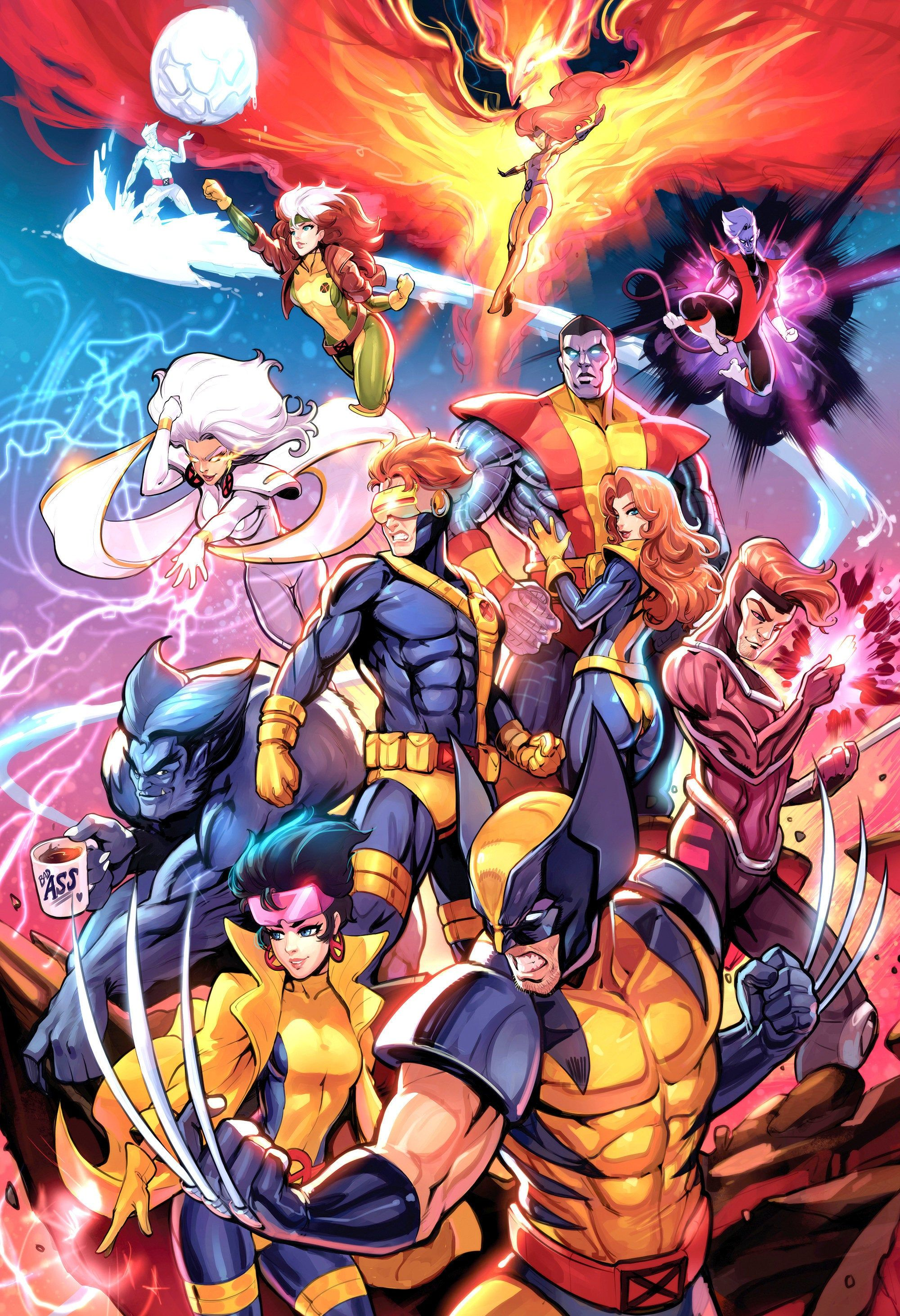 Unlimited X Men Marvel Comics Art Marvel Xmen Wolverine Marvel