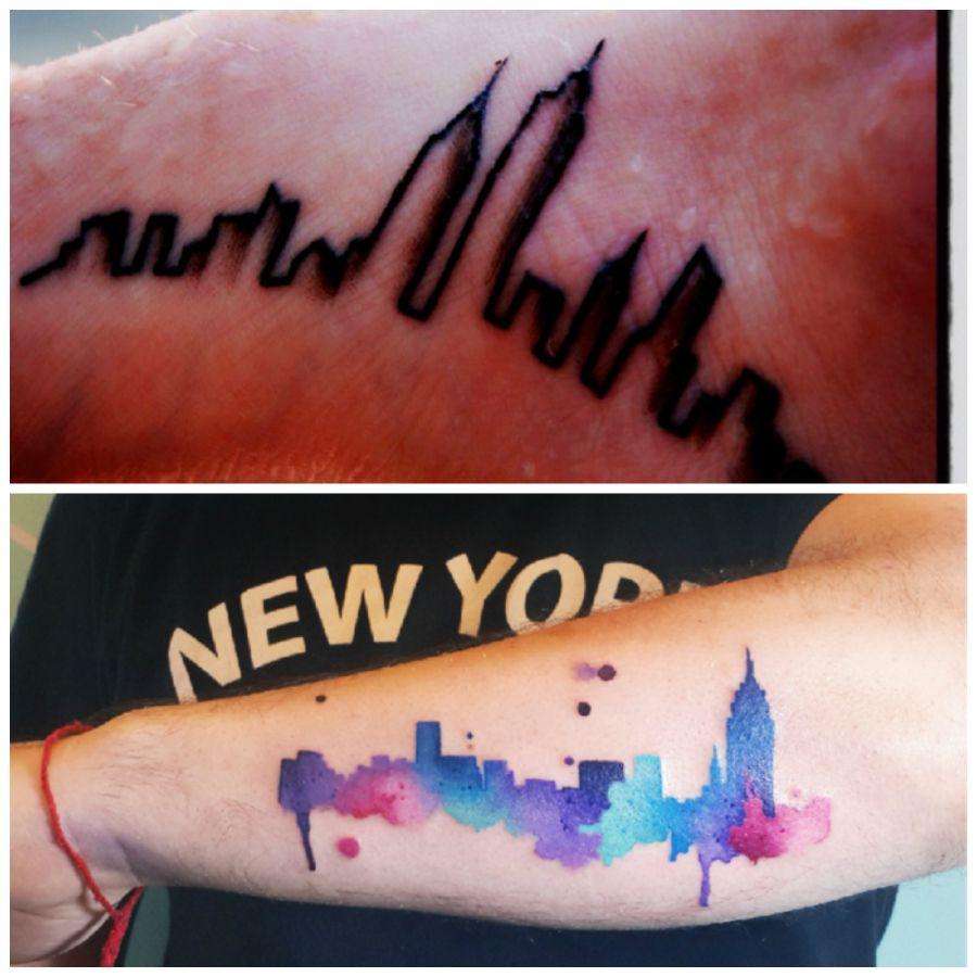 Cleveland skyline tattoo google search cleveland that for Cleveland skyline tattoo