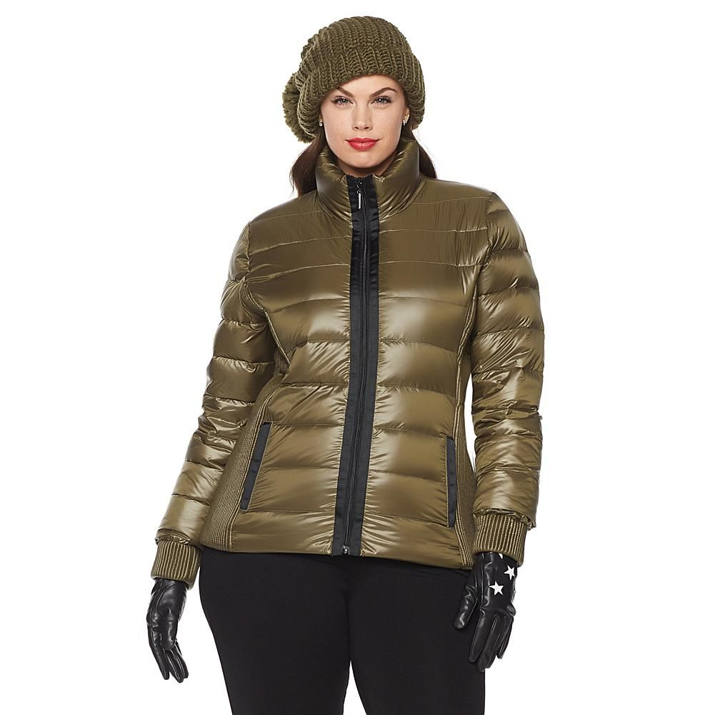 3d387cd43 French Rendez Vous Grenoble Puffer Jacket - Green | Products in 2019 ...