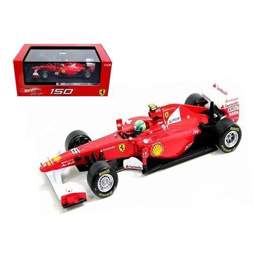 Ferrari F2011 150 Italia #6 Felipe Massa 2011 1/43 Diecast Car Model by Hotwheels