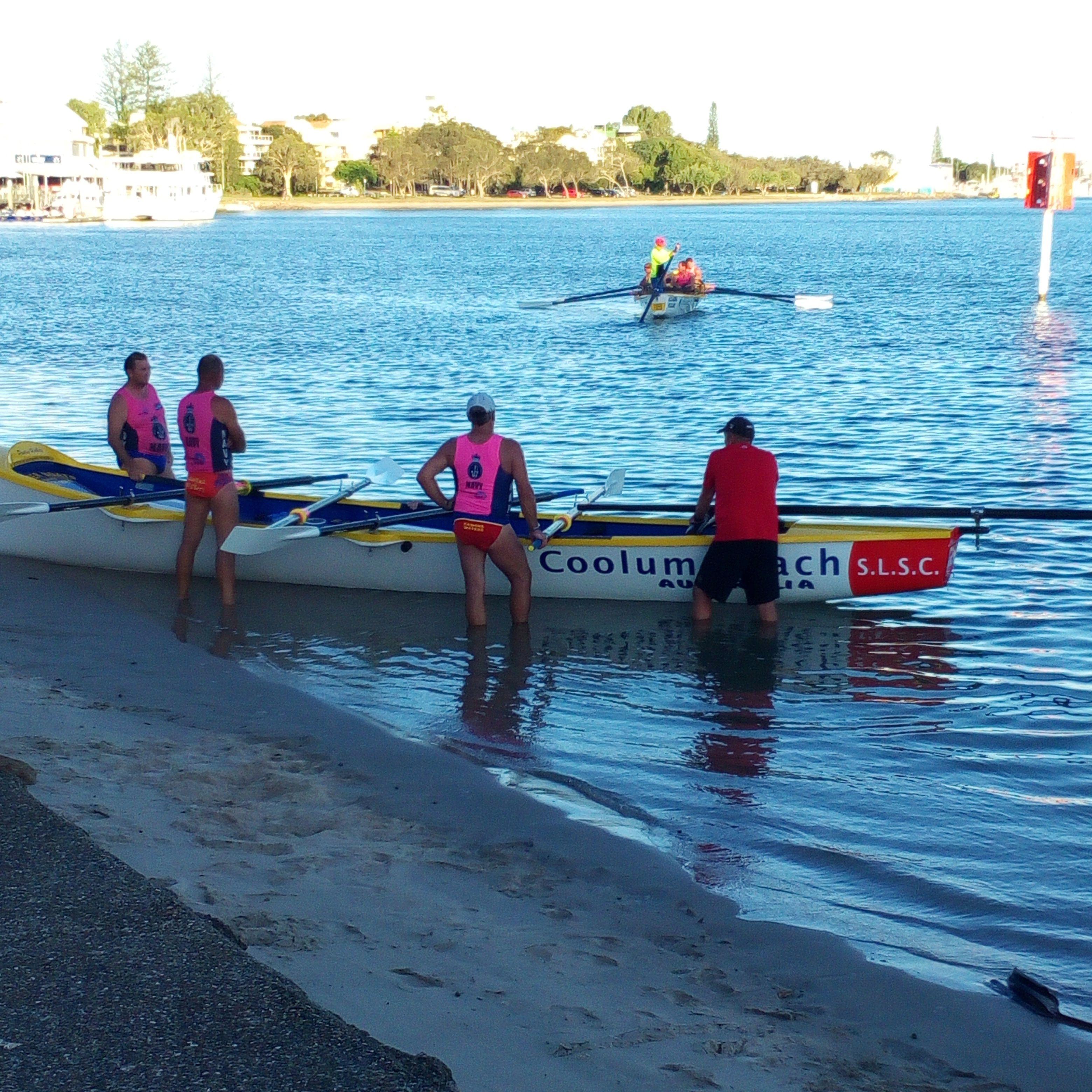Surf Life Savers Train Year Round On Mooloolaba Water Ways
