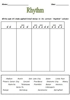 Music Activities: Music RHYTHM Worksheets | KODALY RESOURCES | Music