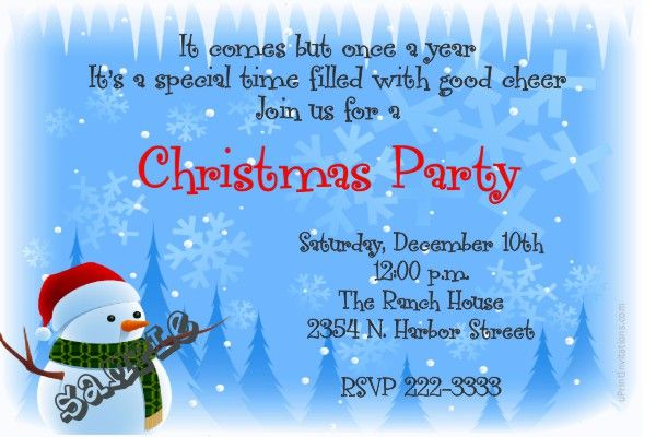 Snowman christmas party invitations get these cards right now snowman christmas party invitations get these cards right now design yourself online download solutioingenieria Image collections