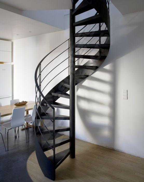 Photo DH50 - SPIR\u0027DÉCO® Standing Escalier intérieur métallique en