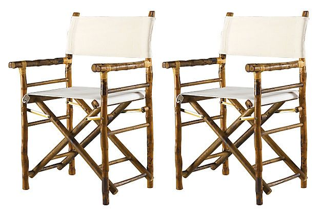 Farr Director S Chair Pair Accent Chair Set Directors Chair Furniture