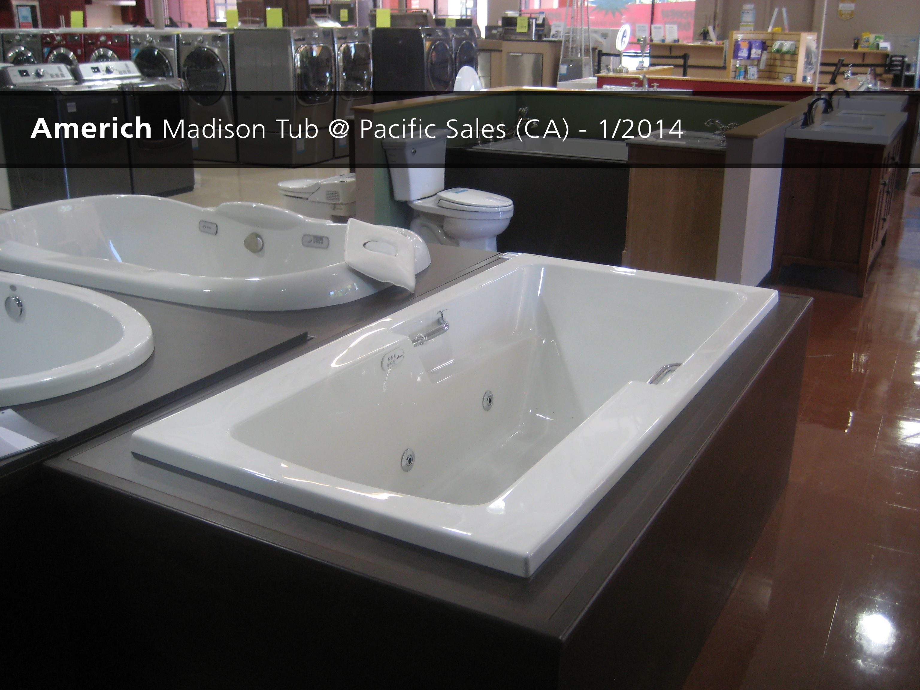 Bathroom Showrooms Torrance Ca americh madison tub @ pacific sales (ca) - 2014 | showroom