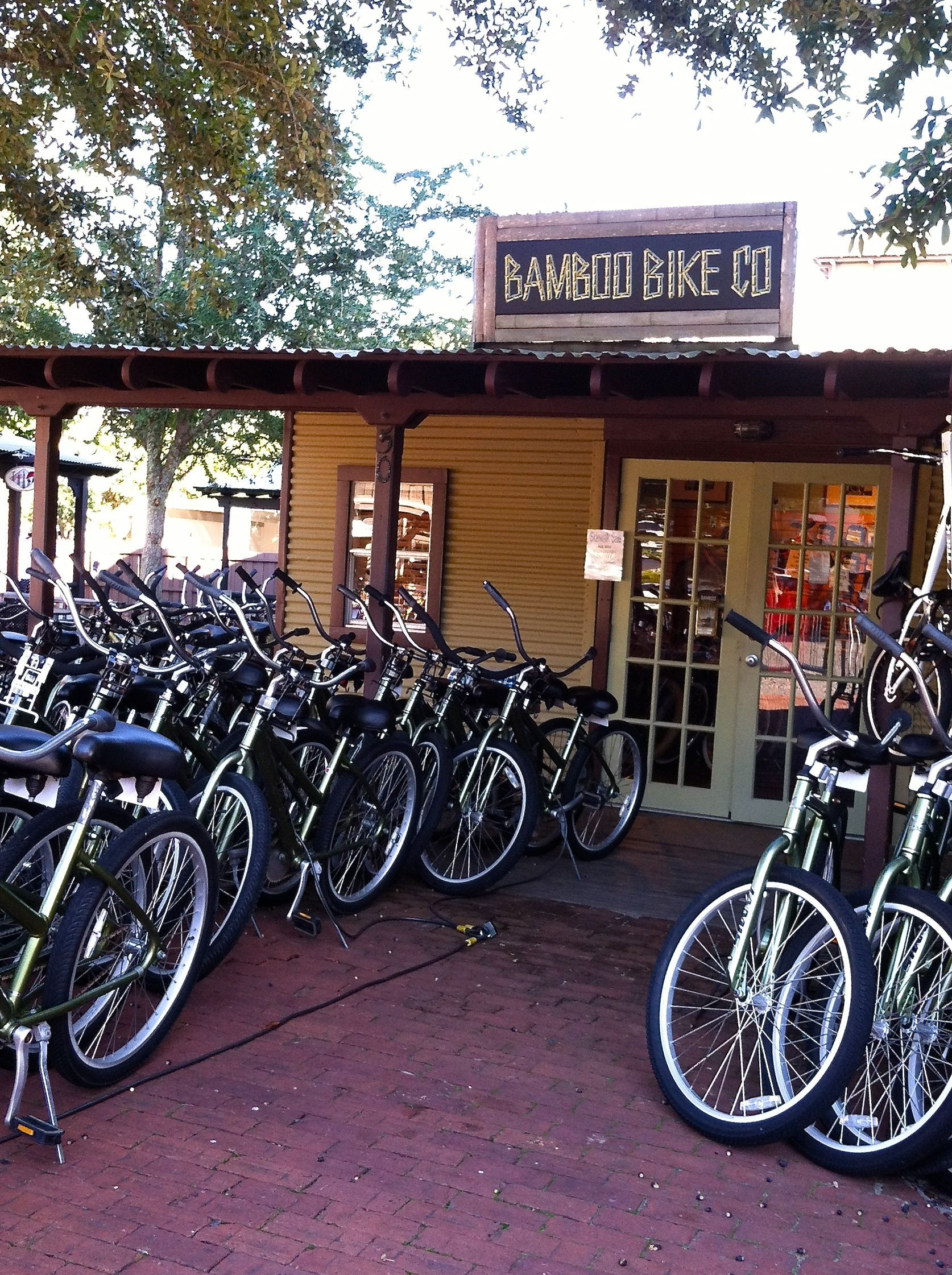 Bamboo Bikes Rosemary Beach Travel Guide