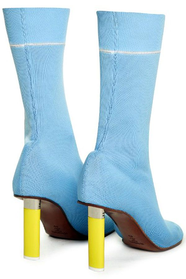 6dbe0369516 Hooked: Vetements Bic Lighter Heels | aesthetic | Sock ankle boots ...