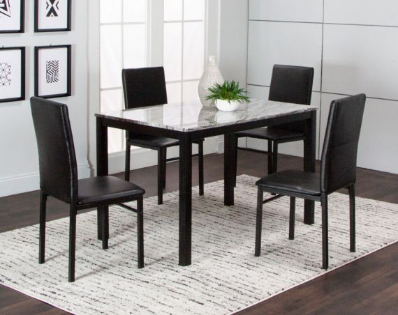Julie Dining Collection American Freight In 2020 Traditional Dining Room Sets Dining American Freight Furniture