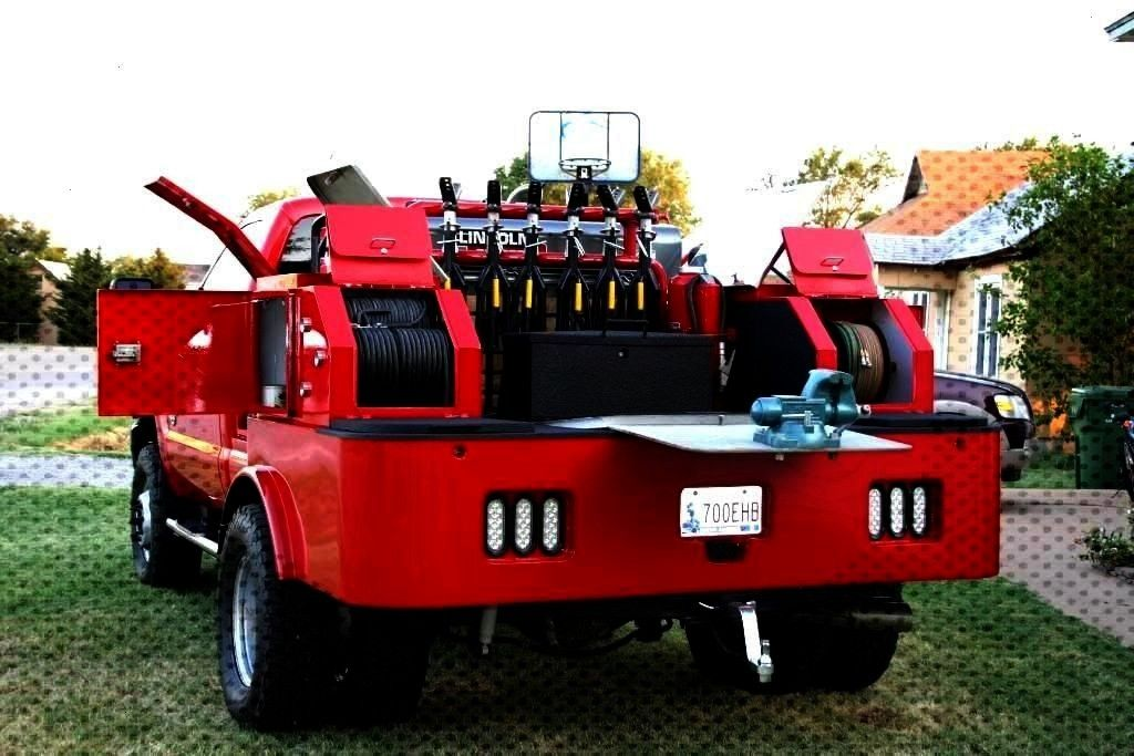 pics of new welding truck - PowerStrokeNation : Ford P...as promised, pics of new welding truck - P