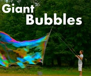 How to Make HUGE Bubbles great for warm days outside with the kids