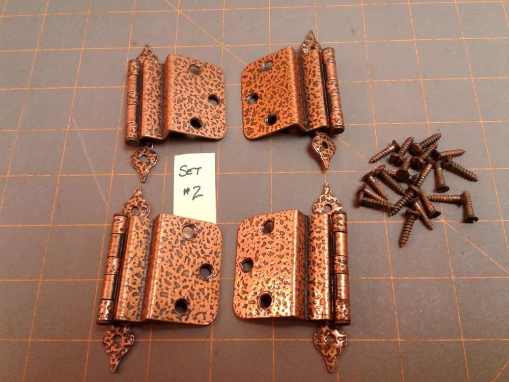 New Hammered Copper Cabinet Hardware