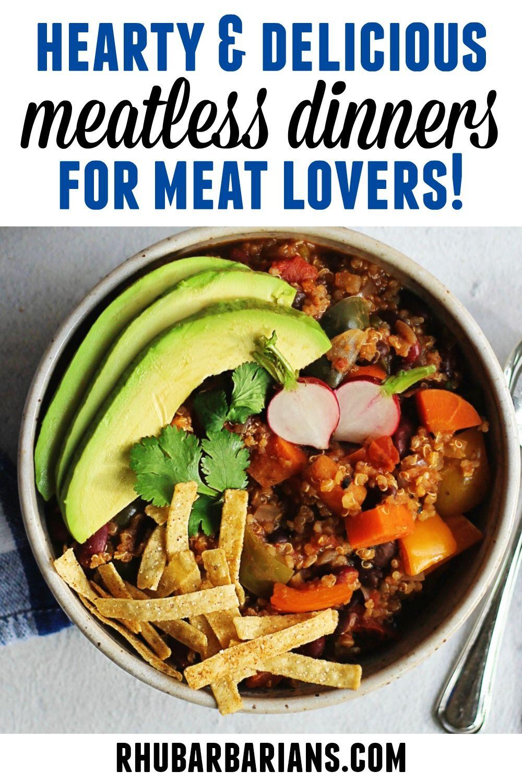 Vegetarian And Vegan Dinner Recipes Rhubarbarians In 2020 Vegan Dinner Recipes Vegetarian Recipes Vegetarian Recipes Dinner