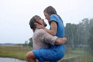The Notebook - Ryan Gosling as Noah Calhoun and Rachel ...