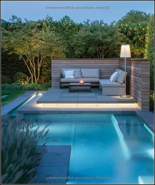 Pin By Jackie Hoffbuhr On Swimming Pool Desaign Small Pool Design Modern Garden Design Swimming Pools Backyard