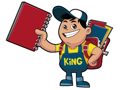 www.mascotize.com - Mascot design for Kingfiles, a Philippines company specialising in stationary