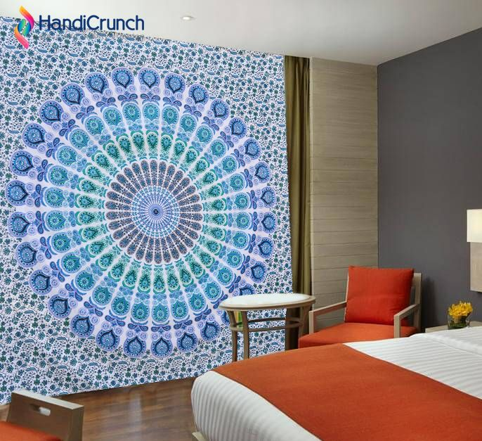 Get Ready To Decor Your Home With Wonderful Wall Tapestry With Handicrunch  At Best Price.