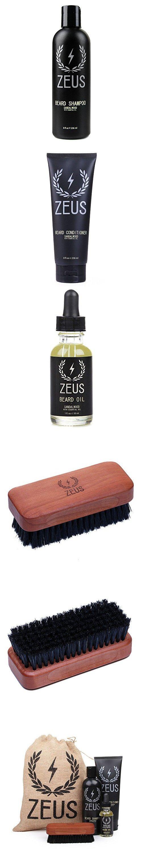 Zeus Deluxe Beard Grooming Kit for Men - Beard Care Gift ...