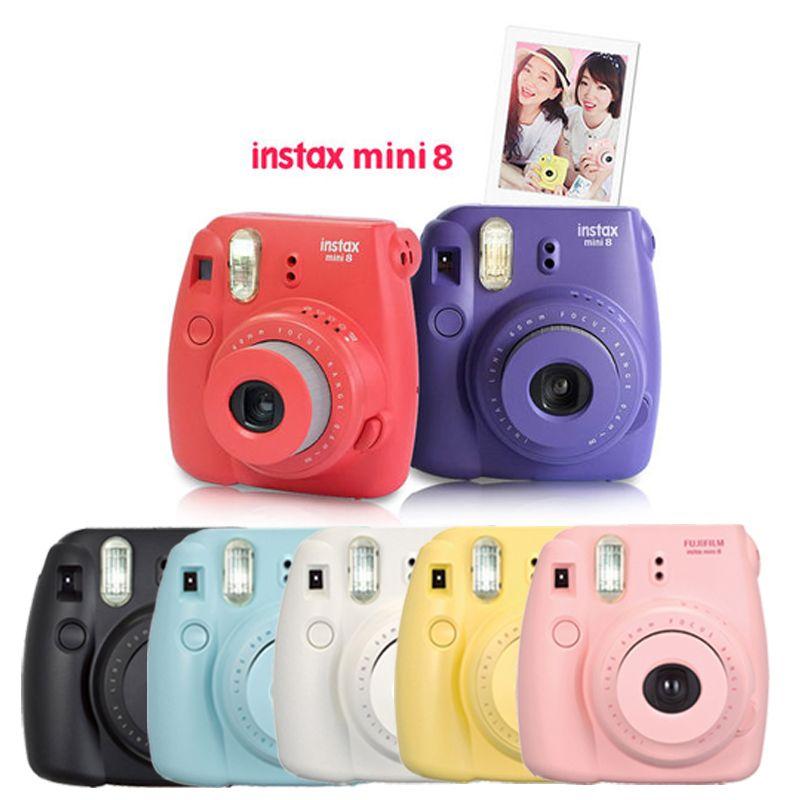 Us 96 99 Fuji Fujifilm Instax Mini 9 Instant Camera For Polaroid Film Printing Regular Snapshot Camera Shooting Photo With Shoulder Strap Fujifilm Instax Mini Fujifilm Instax Mini Instax Mini Instax