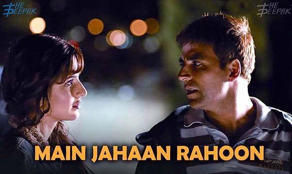 Guitar Tabs Main Jahaan Rahoon - Namastey London - Akshay Kumar ...