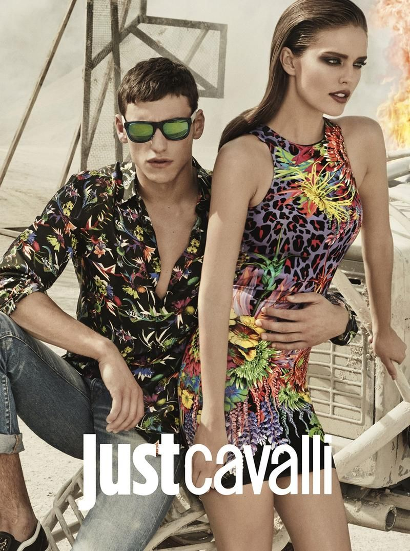 Just Cavalli S/S 14 | Fashion, Street fashion show, Young ...