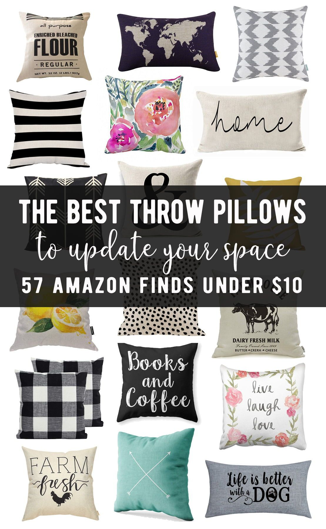 57 Amazing Throw Pillow Covers Under 10 Bright Colorful Or