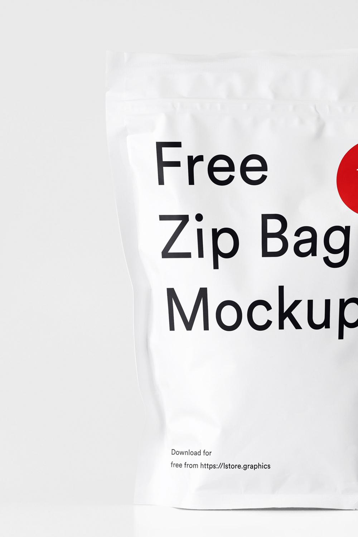 Download Free Zip Bag Mockup Bag Mockup Zipped Bag Mockup Free Download