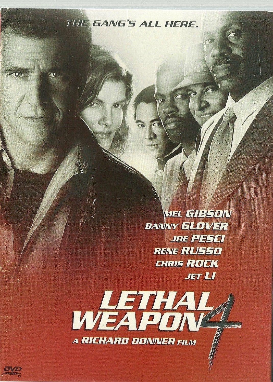 Lethal Weapon 4 Dvd Mel Gibson Danny Glover Joe Pesci Rene Russo Buenas Peliculas Peliculas Peliculas De Aventuras