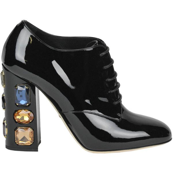 Dolce & Gabbana Patent Leather Lace Up Boots XFNr2Kd2
