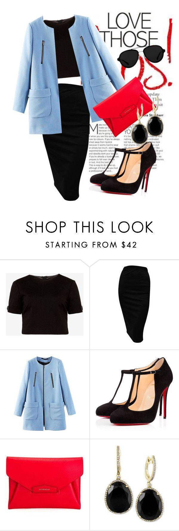 """""""39#badak cula satu #indonesia"""" by omahtawon ❤ liked on Polyvore featuring Ted Baker, Christian Louboutin, Givenchy, Effy Jewelry, 3.1 Phillip Lim, women's clothing, women, female, woman and misses"""