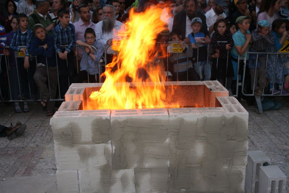 The Sanhedrin held a full reenactment of the Passover sacrifice ...