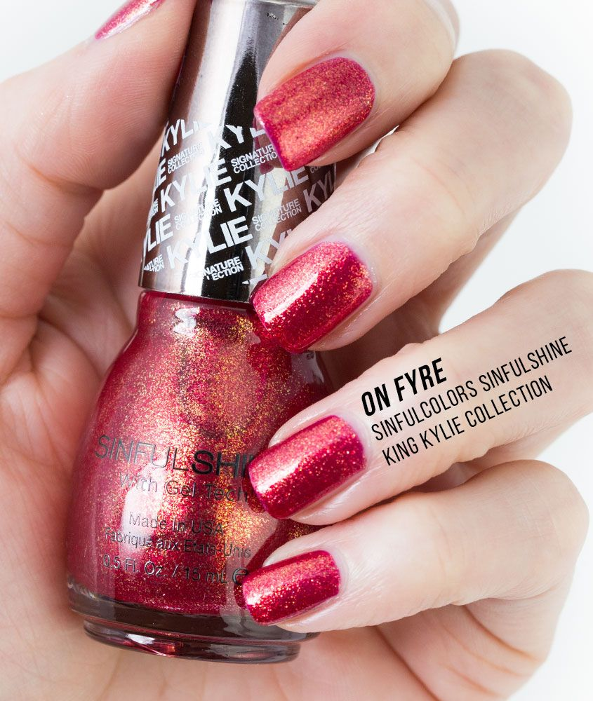 SinfulColors SinfulShine Kylie Jenner King Kylie Collection Photos ...