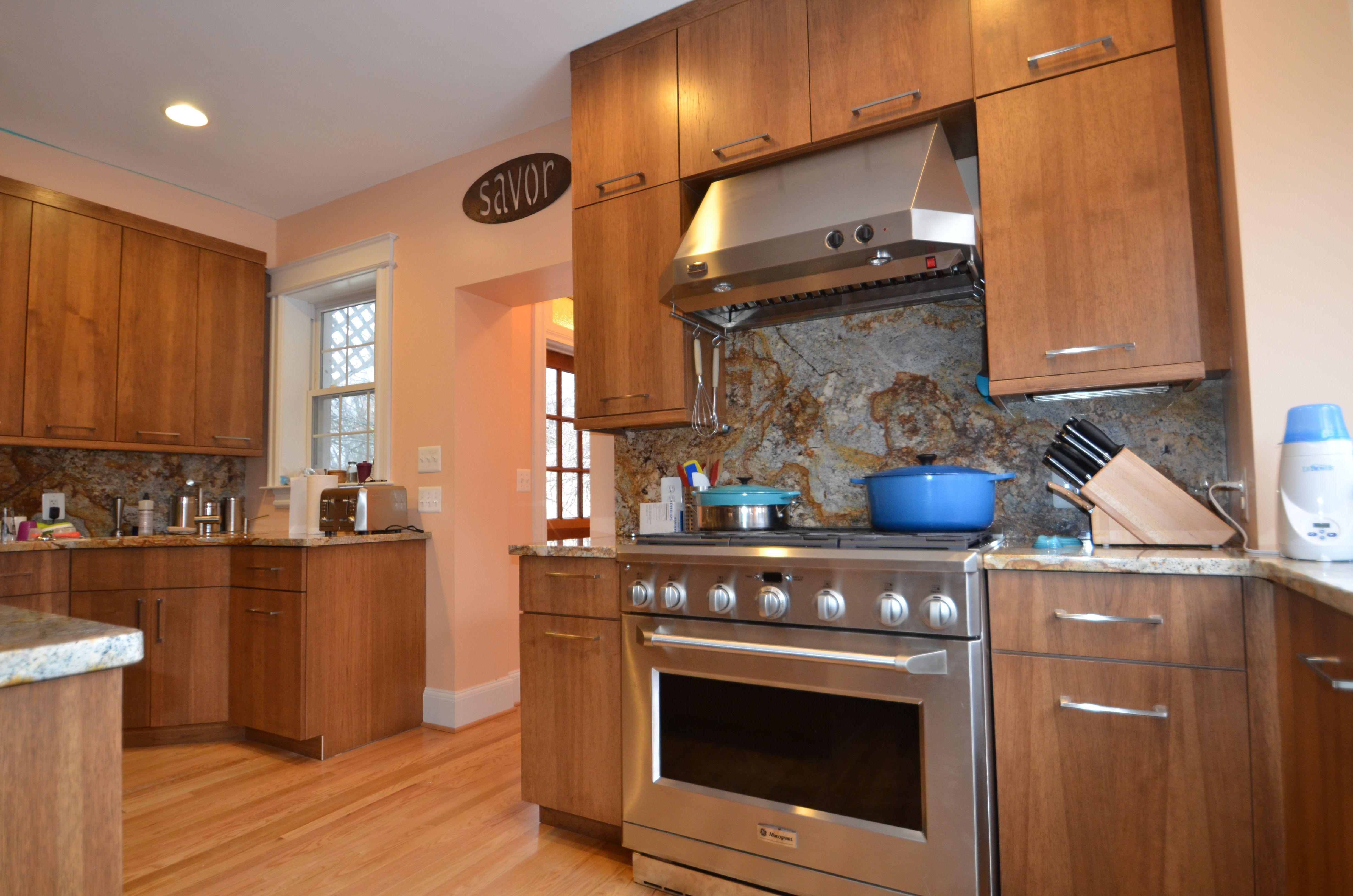 Chestnut Stain On Hickory See Our Rockville Showroom Sunday Kitchen Bath 240 314 7011 Talk Kitchen Cabinet Design Kitchen Design Hickory Kitchen Cabinets
