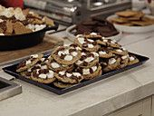 Winter Dishes by George Duran...but the best one is S'mores Chocolate Chip Cookies!
