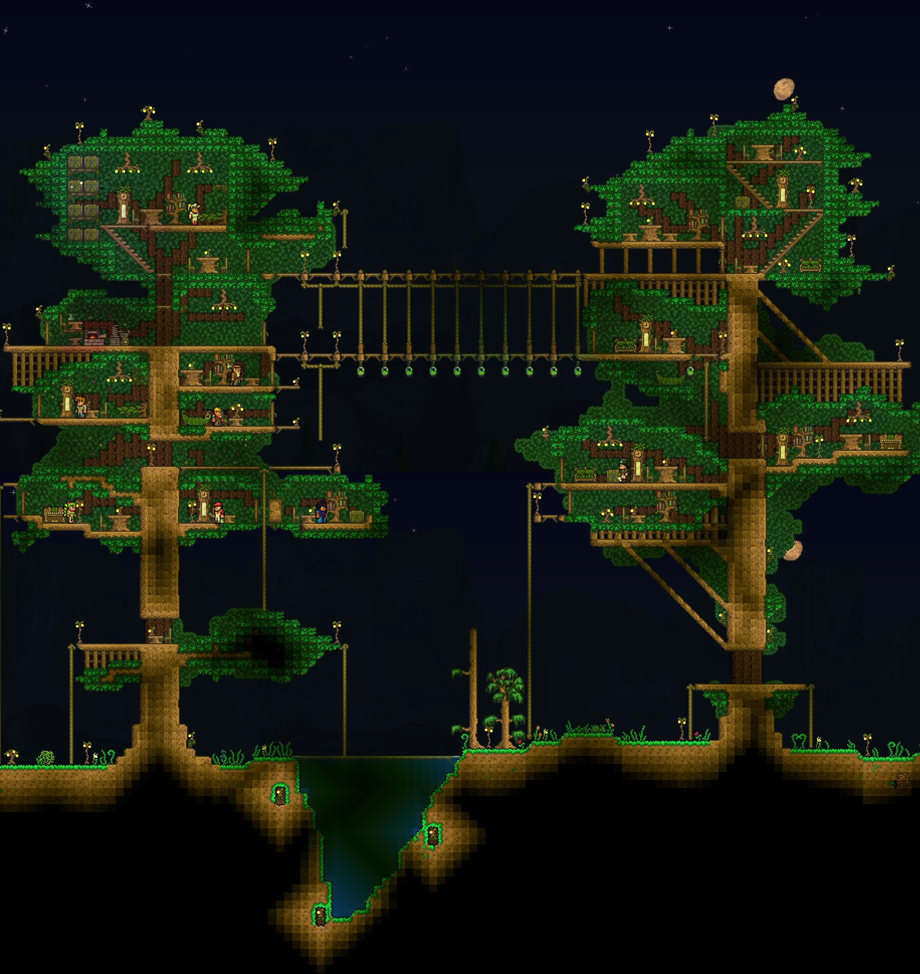Made A Tree House A While Back  Forgot To Post
